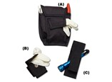 Airway Response Holster, Single Glove Case, Flashl